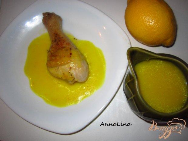 Куриные ножки с лимонным соусом