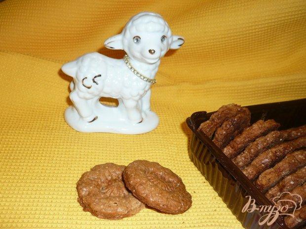 Печенье с имбирем и цукатами