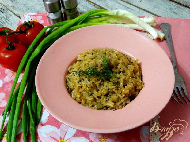 Жареный пряный рис