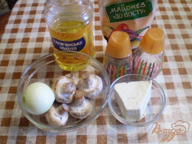 Рецепт Грибы запеченные с луком и сыром