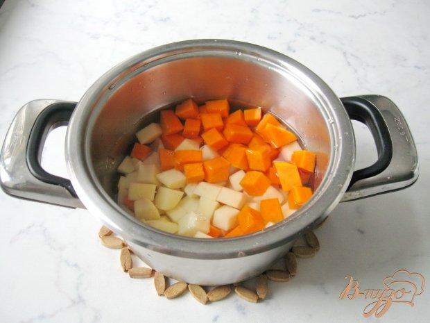 Рецепт Суп с тыквой и красной чечевицей