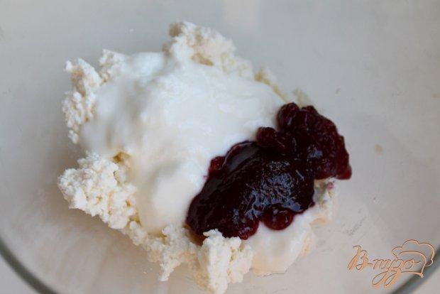 Творожный десерт с безе