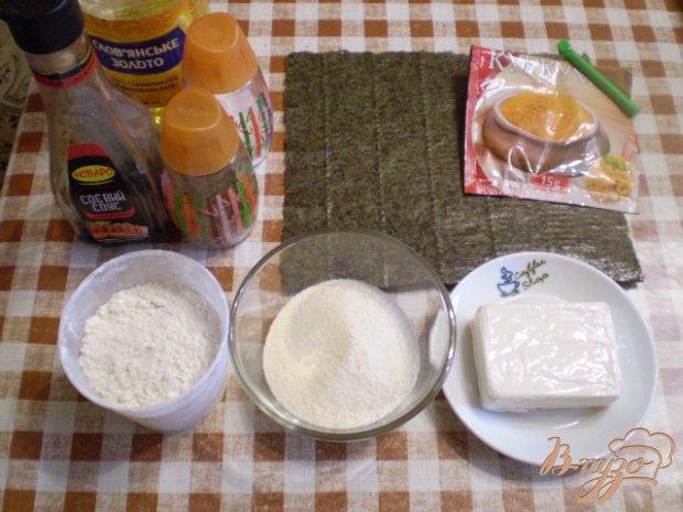 Рецепт Сыр жаренный в нори