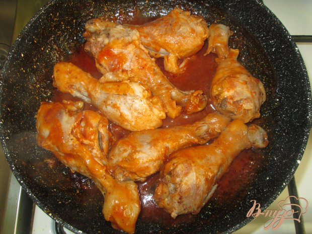 Курица в томатном соке