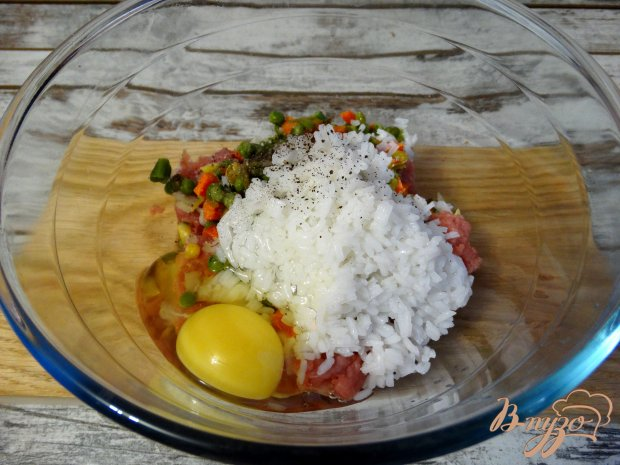Тефтели по-мексикански в томатно-чесночном соусе