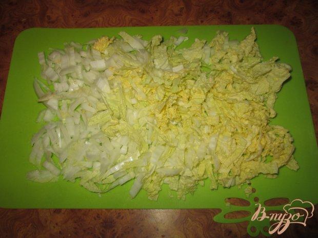 Рецепт Салат из китайской капусты и крабовых палочек
