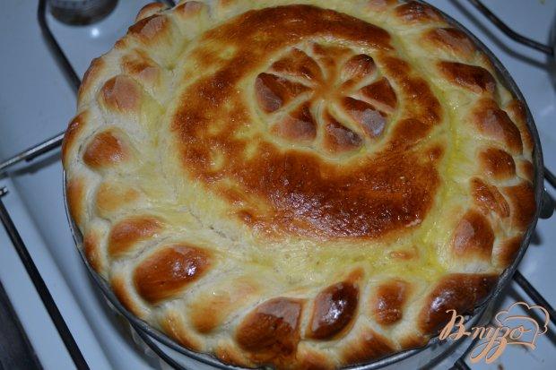 Пышный капустный пирог