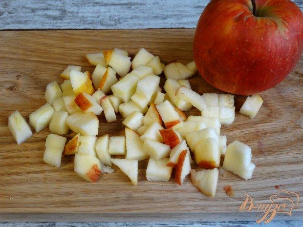 Яблочные ватрушки со штрейзелем
