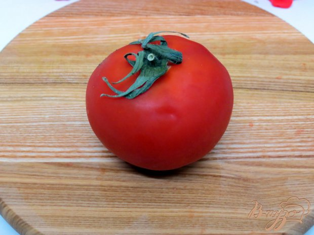 Хек запеченный с помидорами