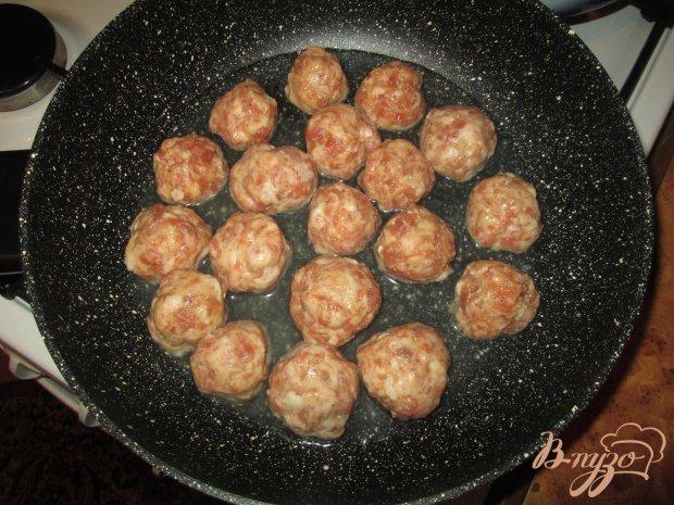 Фрикадельки с сырной начинкой