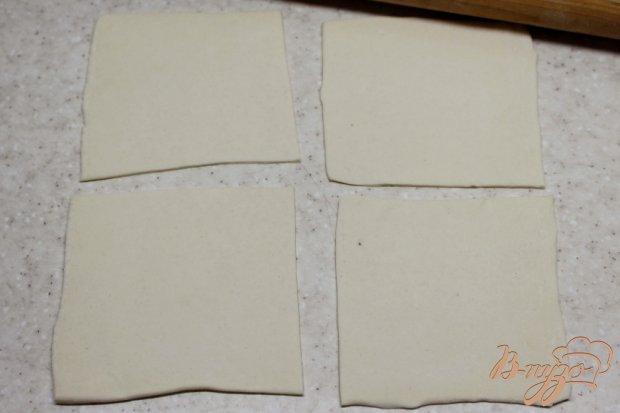 Слоеные конверты с грушевым повидлом