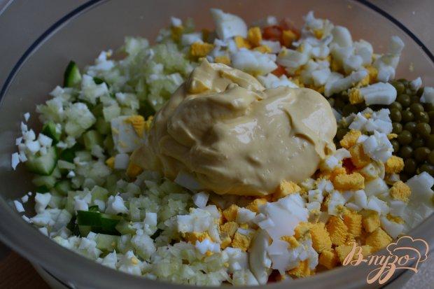"""Салат с креветками """"Заливной"""""""
