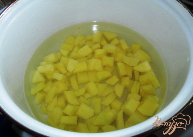 Суп из шампиньонов с лапшой
