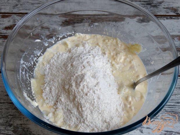Яблочная лепешка с сыром