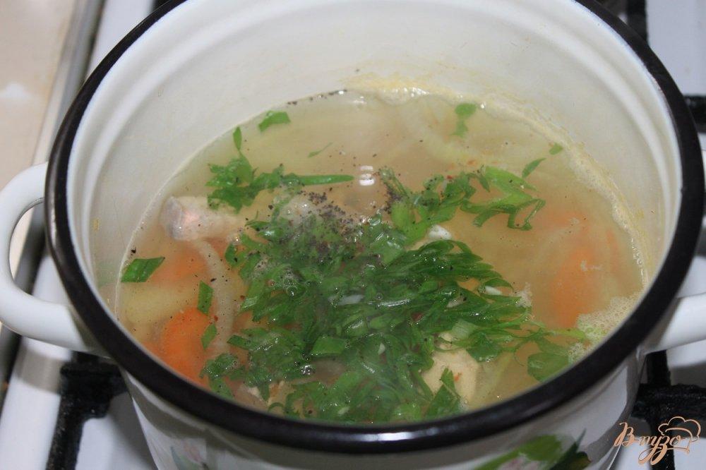 Фото приготовление рецепта: Уха рыбацкая шаг №6