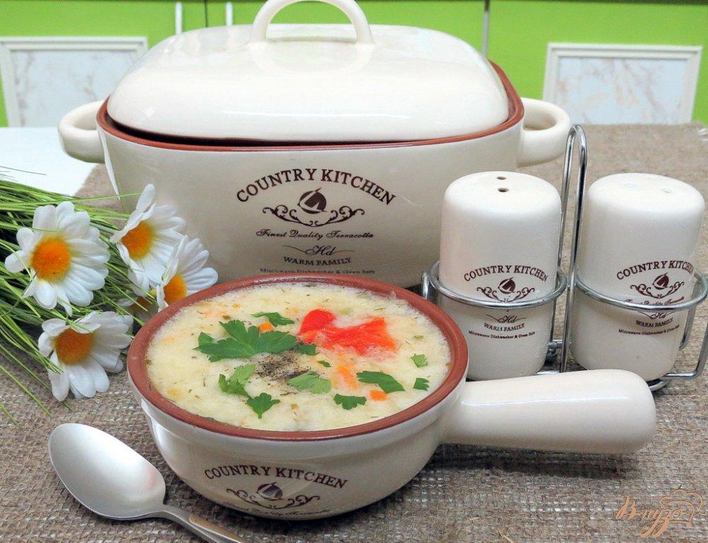 Фото приготовление рецепта: Капусняк из кислой капусты, перца и горошка шаг №10