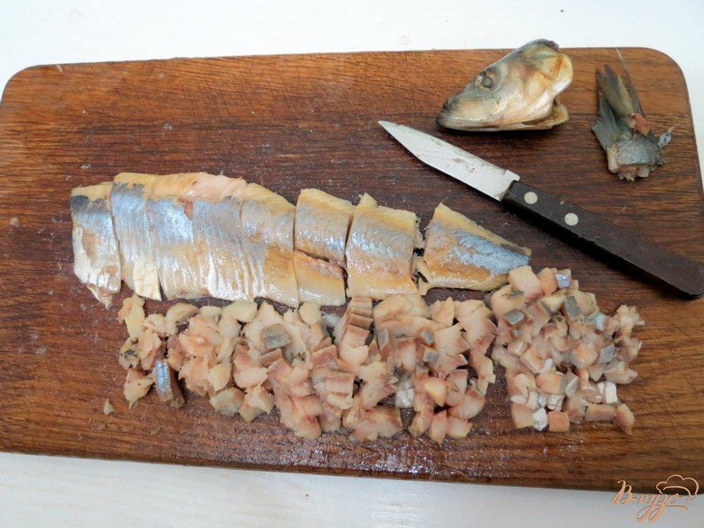 Фото приготовление рецепта: Селёдочное масло шаг №2