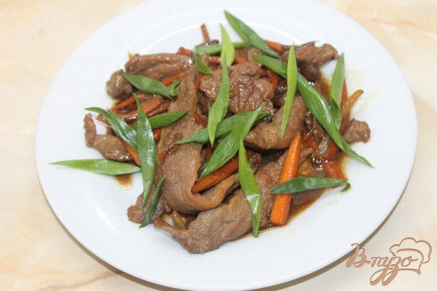 фото рецепта: Курица с перцем чили и овощами в соусе Терияки