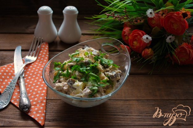 фото рецепта: Салат скорый