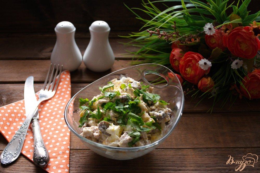 Фото приготовление рецепта: Салат скорый шаг №5