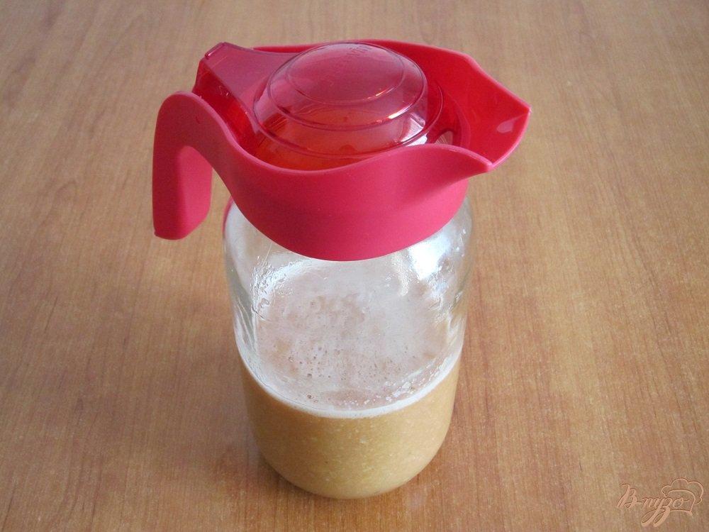 Фото приготовление рецепта: Апельсиновый коктейль-смузи шаг №9