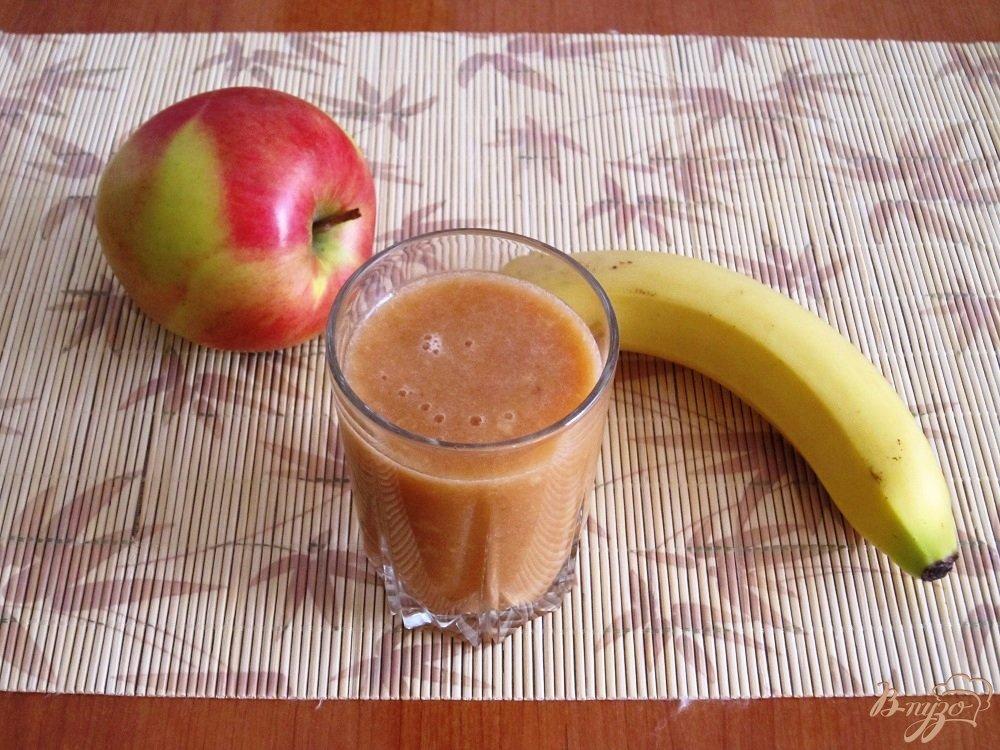 Фото приготовление рецепта: Апельсиновый коктейль-смузи шаг №10