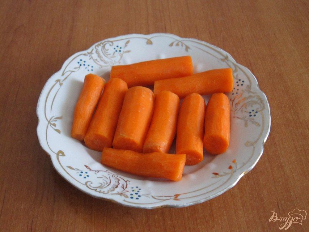 Фото приготовление рецепта: Апельсиновый коктейль-смузи шаг №2