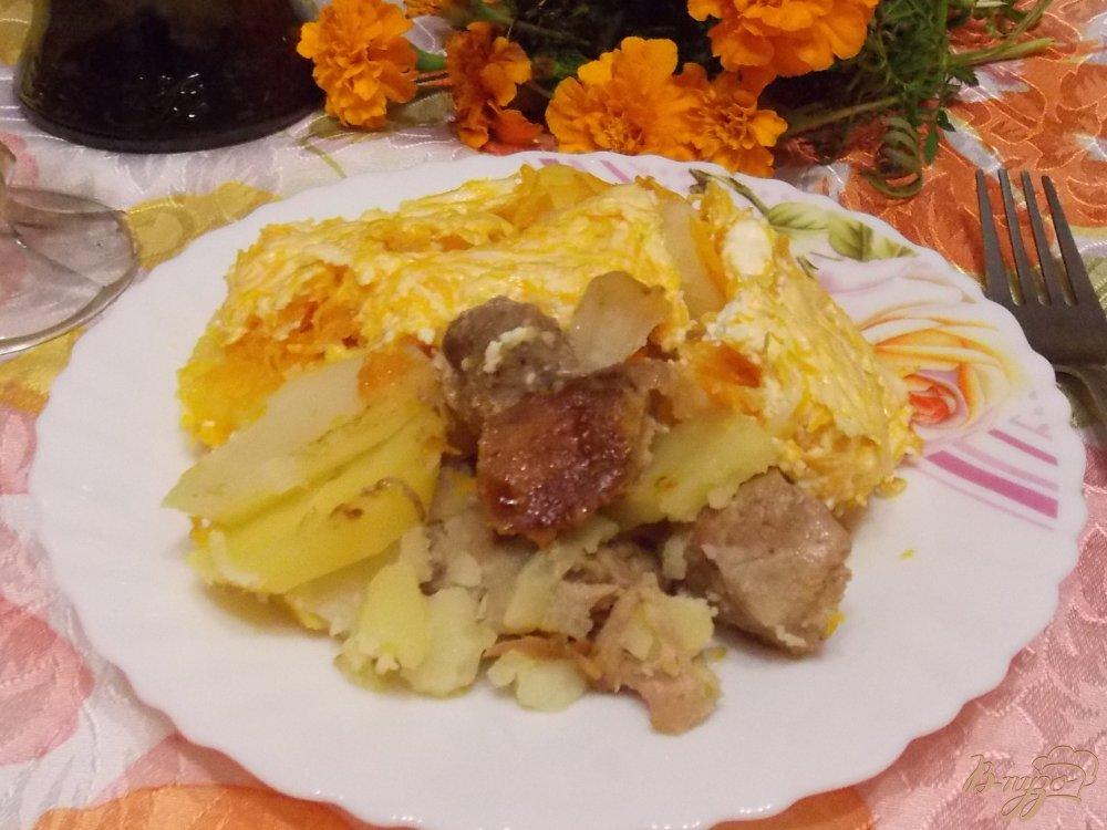 Фото приготовление рецепта: Свинина под
