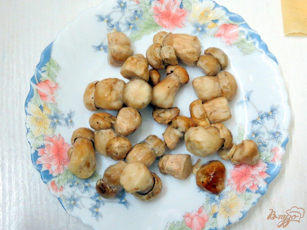Фото приготовление рецепта: Грибной суп лапша шаг №10