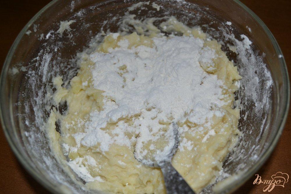 Картофель с куриным фаршем в духовке с сыром