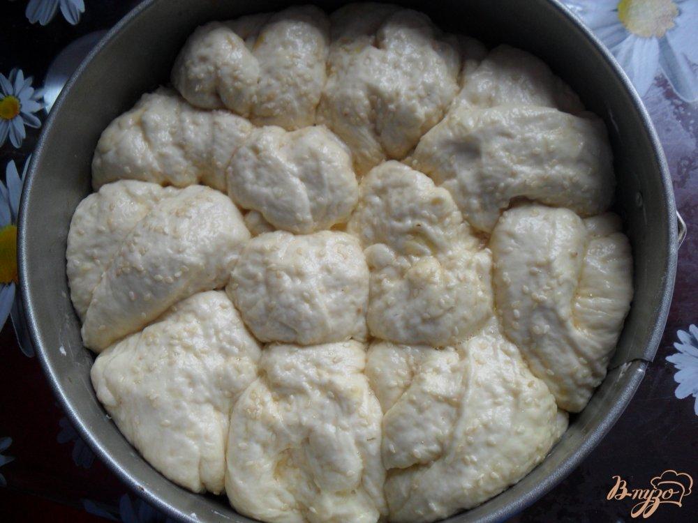 Фото приготовление рецепта: Воздушный хлеб на кефире шаг №8