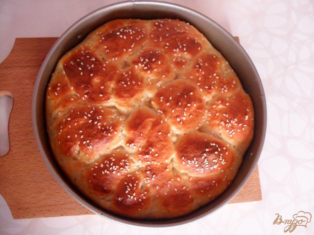 Фото приготовление рецепта: Воздушный хлеб на кефире шаг №9