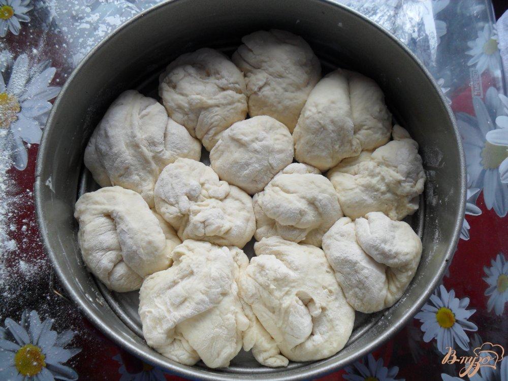 Фото приготовление рецепта: Воздушный хлеб на кефире шаг №6