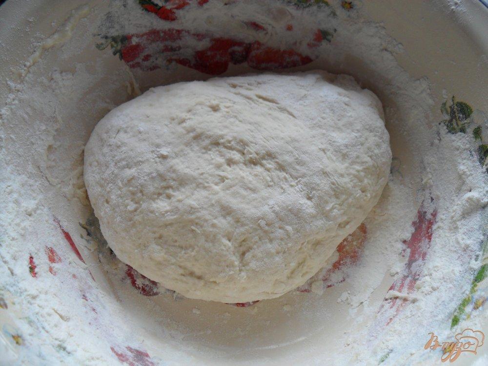 Фото приготовление рецепта: Воздушный хлеб на кефире шаг №3