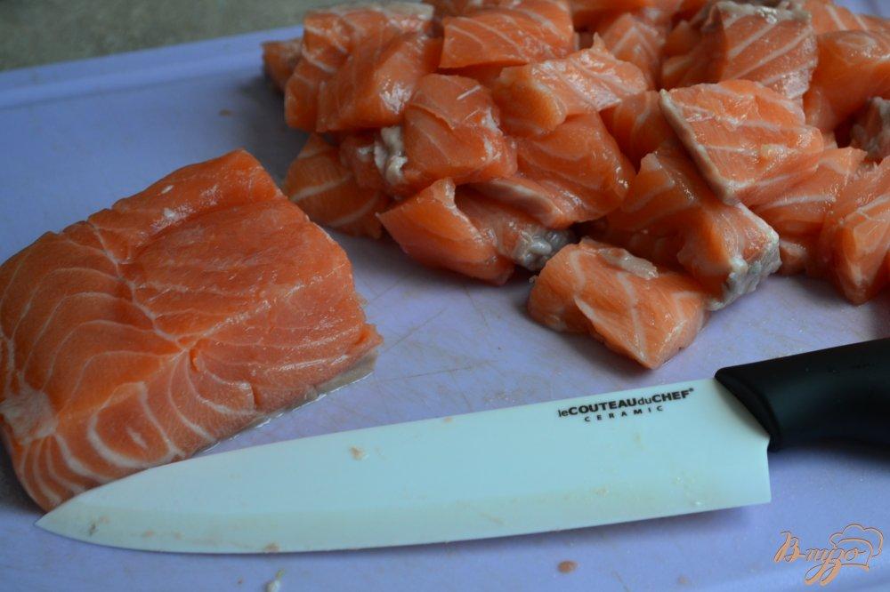 Фото приготовление рецепта: Лазанья с морепродуктами шаг №4