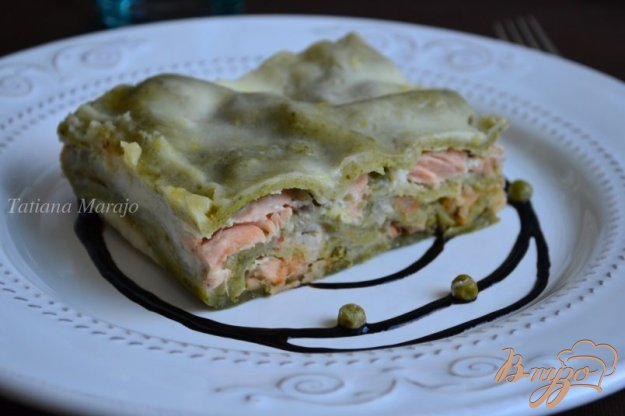 фото рецепта: Лазанья с морепродуктами