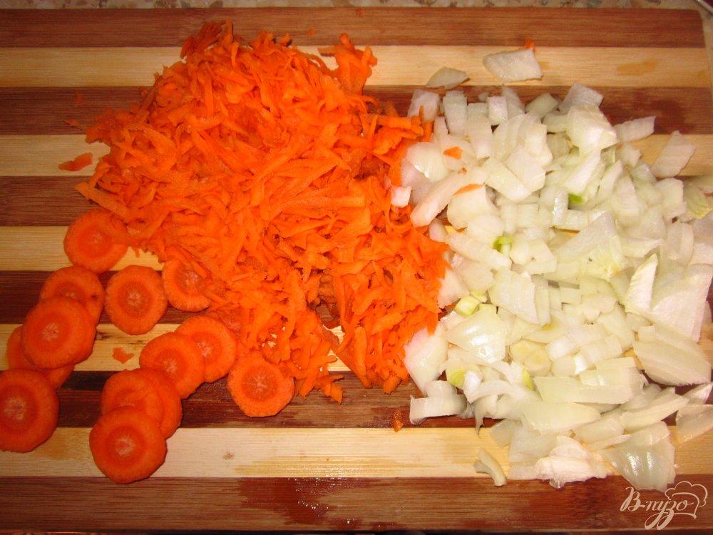 Фото приготовление рецепта: Суп с кроликом и фасолью на молоке шаг №2