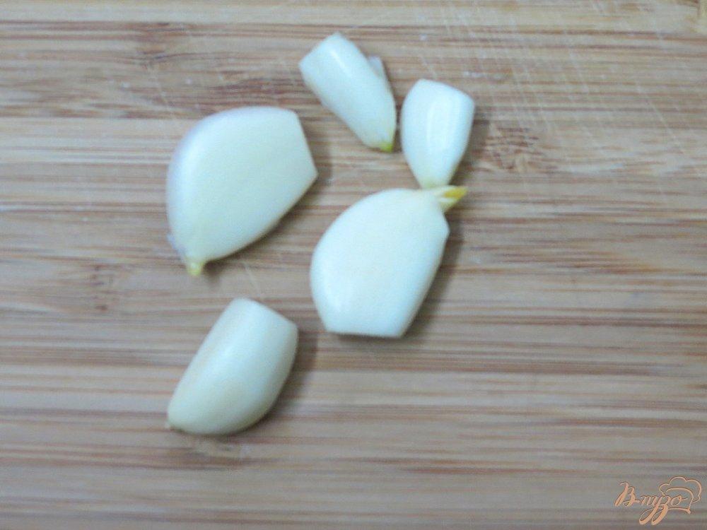 Фото приготовление рецепта: Суп пюре из горошка и шпината шаг №7