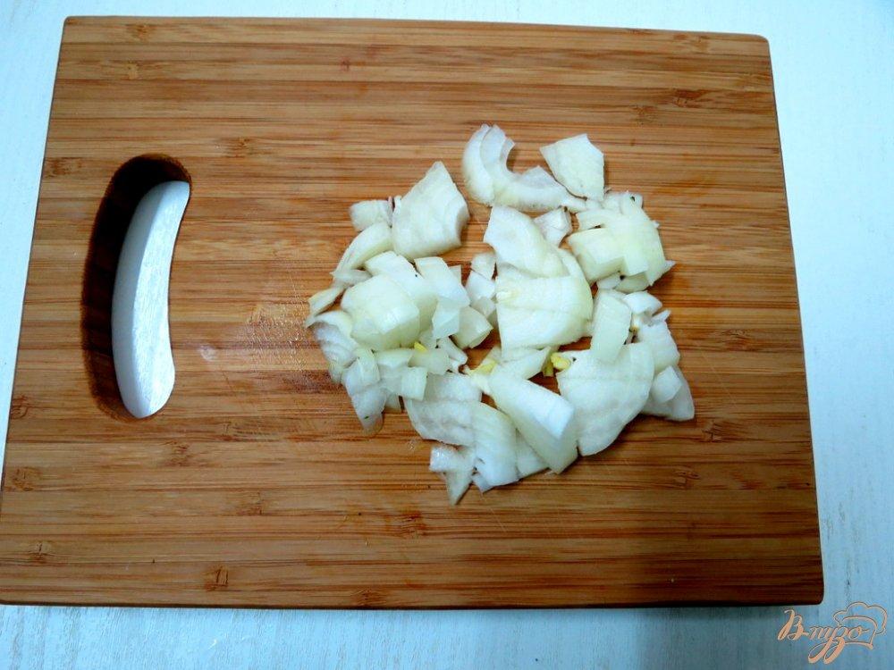 Фото приготовление рецепта: Суп пюре из горошка и шпината шаг №4