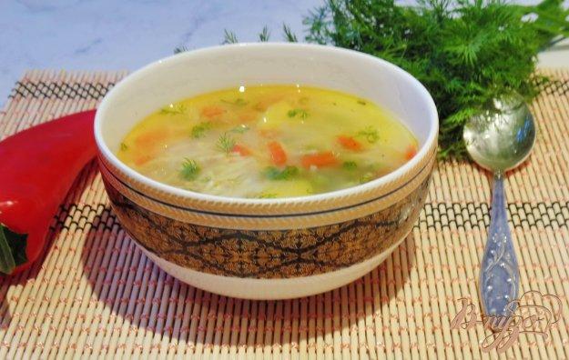 Курячий суп з вермішеллю і зеленим горошком. Як приготувати з фото