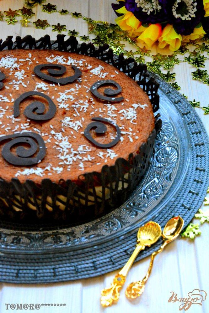 Фото приготовление рецепта: Американский морковный торт шаг №14