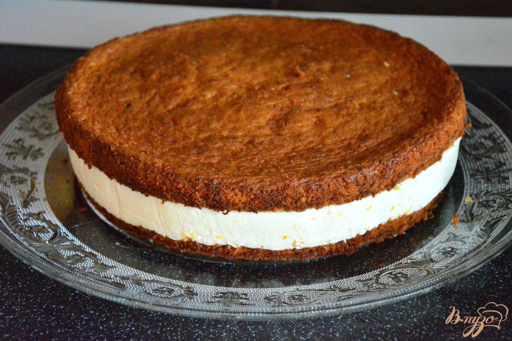 Фото приготовление рецепта: Американский морковный торт шаг №12
