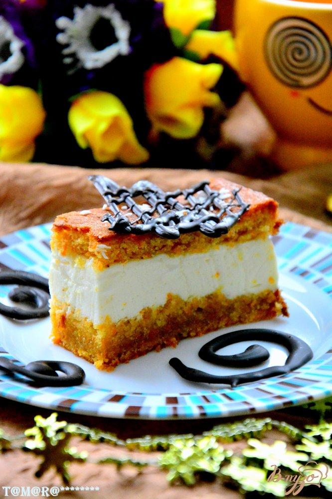 Фото приготовление рецепта: Американский морковный торт шаг №15