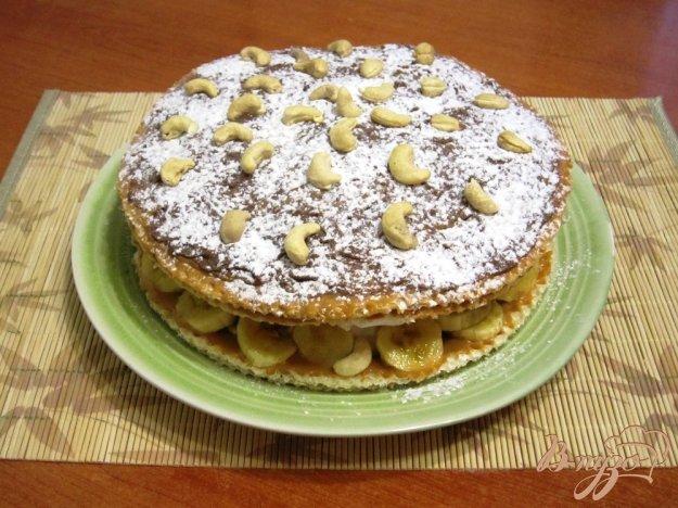 фото рецепта: Торт с зефиром и бананами