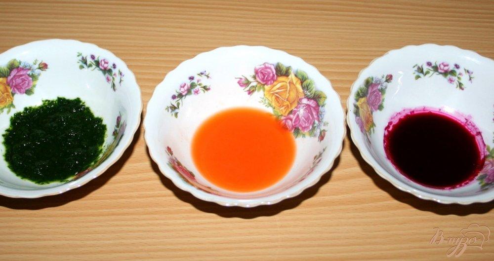 Фото приготовление рецепта: Домашняя паста с нутом и маслинами шаг №5