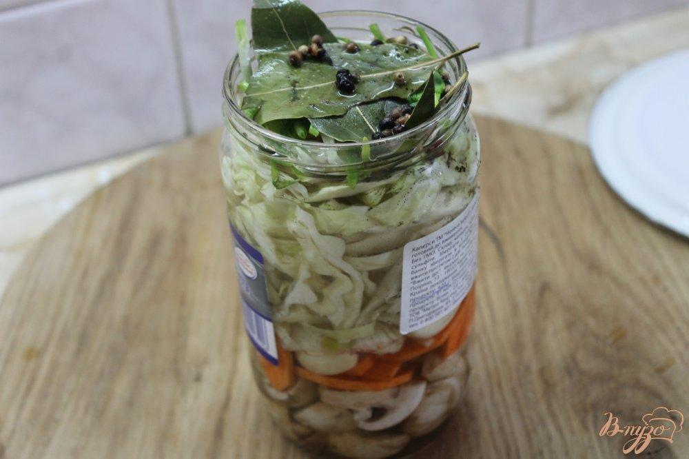 Фото приготовление рецепта: Овощной рататуй маринованный шаг №8
