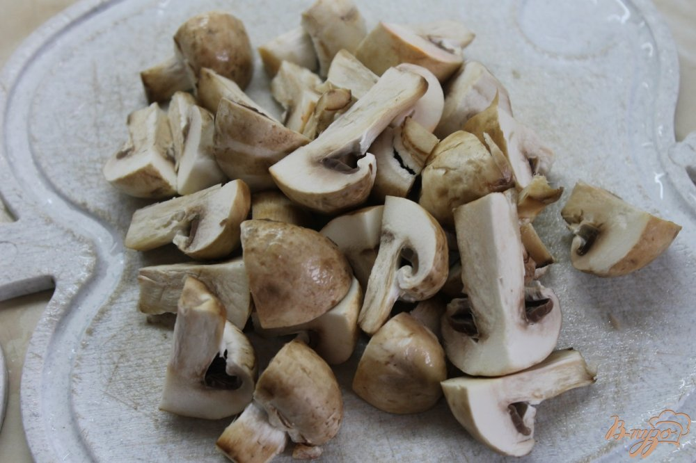 Фото приготовление рецепта: Овощной рататуй маринованный шаг №2