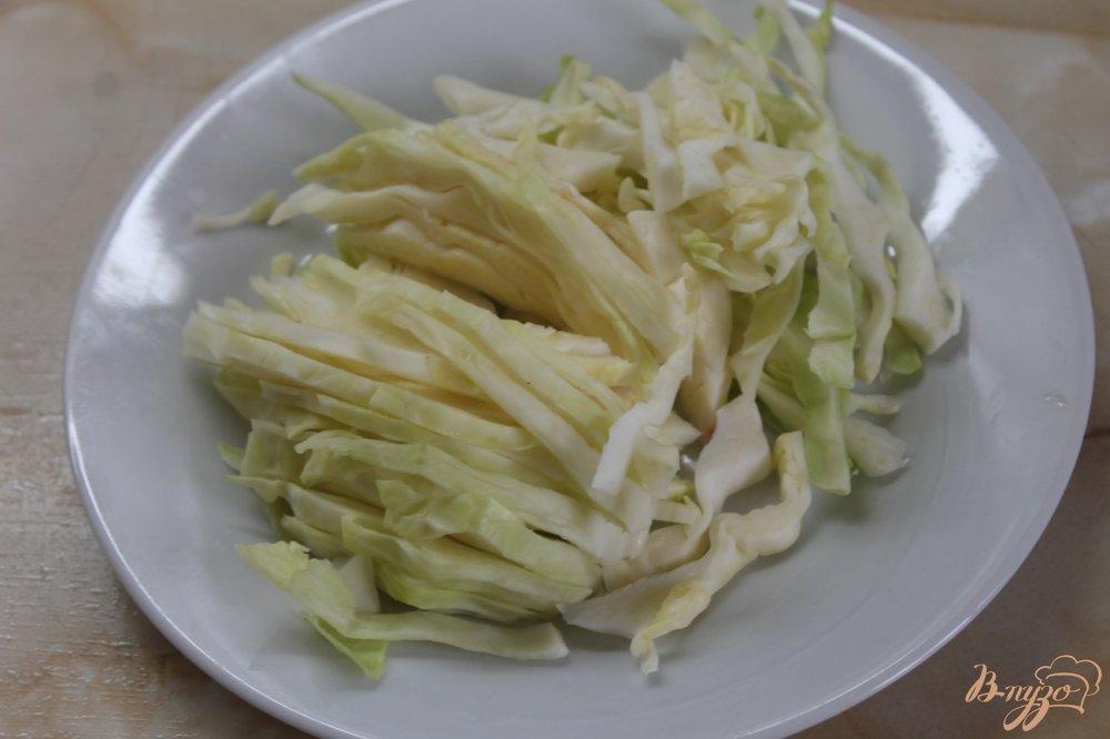 Фото приготовление рецепта: Овощной рататуй маринованный шаг №5