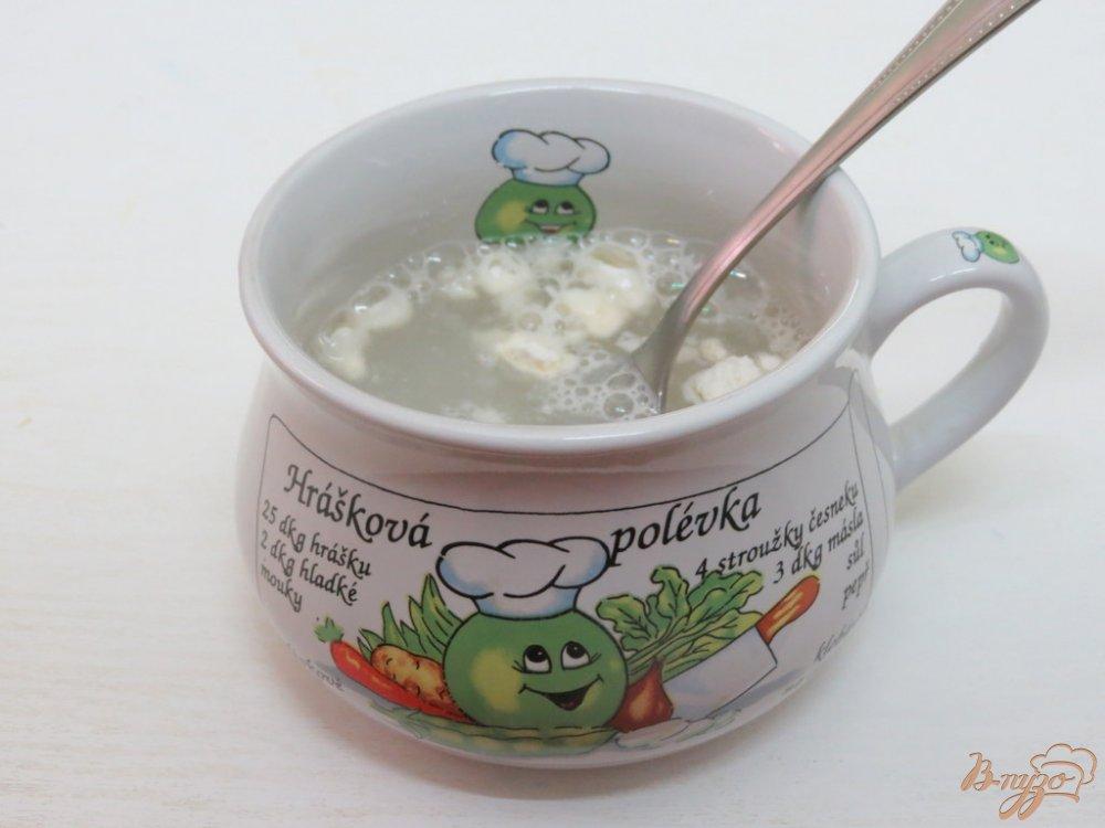 Фото приготовление рецепта: Щи со свежей капустой и грибами шаг №8