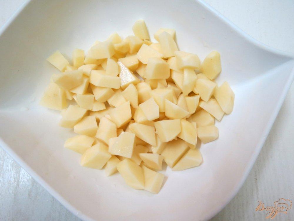 Фото приготовление рецепта: Щи со свежей капустой и грибами шаг №2